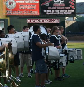 FS drumline pre